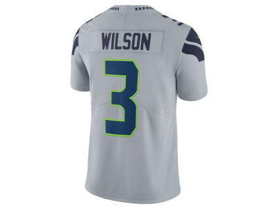 Seattle Seahawks Russell Wilson Nike NFL Men's Vapor Untouchable Limited Jersey