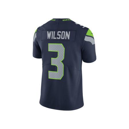 Seattle Seahawks Russell Wilson Nike NFL Men's Vapor Untouchable Limited Jersey