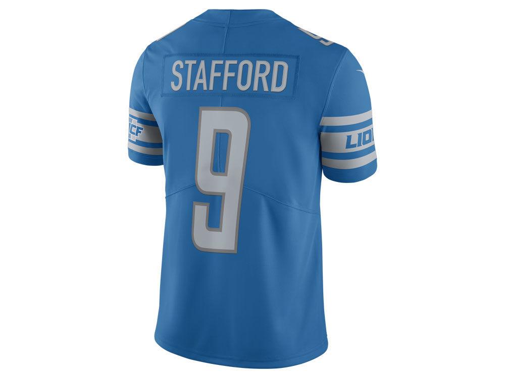 ac59db2e4 Detroit Lions Matthew Stafford Nike NFL Men s Vapor Untouchable Limited  Jersey