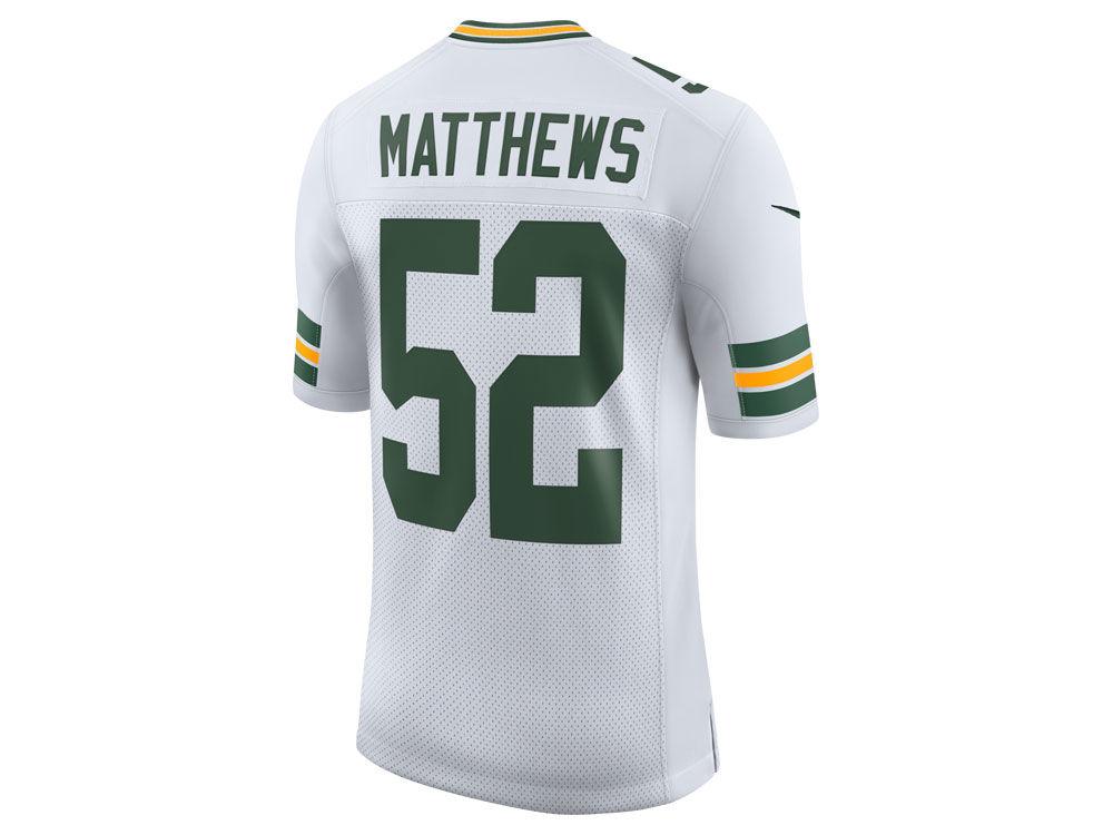 Green Bay Packers Clay Matthews Nike NFL Men s Limited Jersey  de1fd5523a19