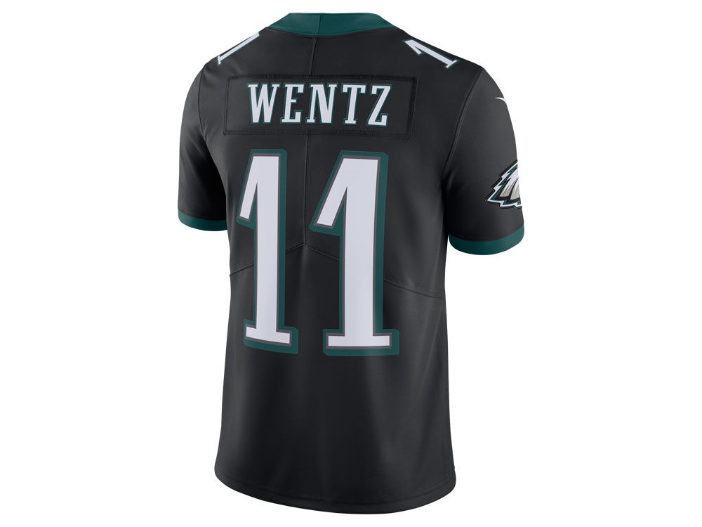 Philadelphia Eagles Carson Wentz Nike NFL Men s Vapor Untouchable Limited  Jersey  076041977