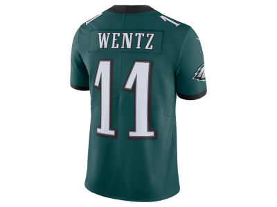 Philadelphia Eagles Carson Wentz Nike NFL Men's Vapor Untouchable Limited Jersey