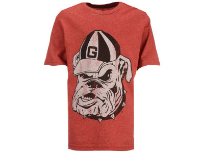Georgia Bulldogs Retro Brand NCAA Youth Mock Twist T-Shirt