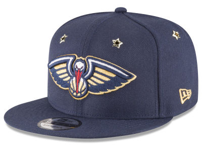 New Orleans Pelicans New Era NBA All Star Gold Star Snapback Cap