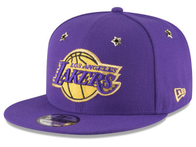 Los Angeles Lakers New Era NBA All Star Gold Star Snapback Cap