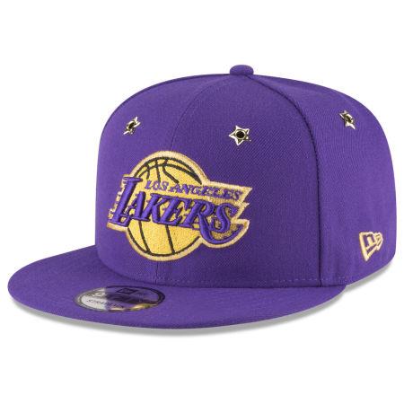 Los Angeles Lakers New Era NBA All Star Gold Star Snapback Cap