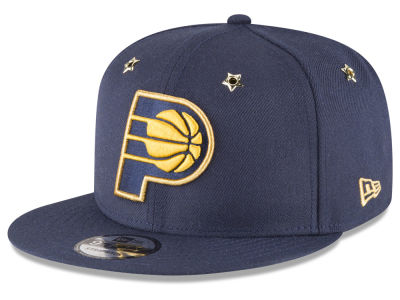 Indiana Pacers New Era NBA All Star Gold Star Snapback Cap