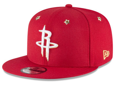 Houston Rockets New Era NBA All Star Gold Star Snapback Cap