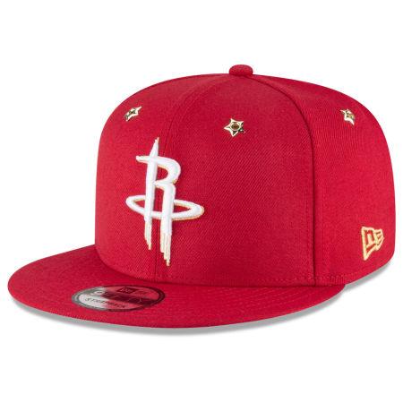 Houston Rockets New Era NBA All Star Gold Star Snapback Cap