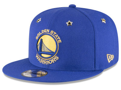 Golden State Warriors New Era NBA All Star Gold Star Snapback Cap
