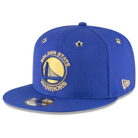 Golden State Warriors New Era NBA All Star Gold Star Snapback Cap