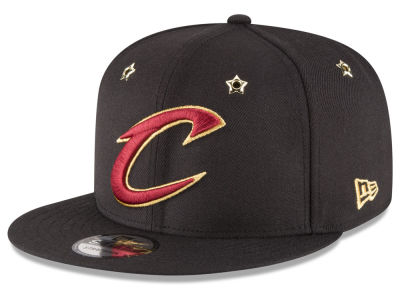 Cleveland Cavaliers New Era NBA All Star Gold Star Snapback Cap