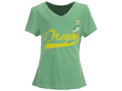 Oregon Ducks Retro Brand NCAA Girls Youth V Neck T-Shirt
