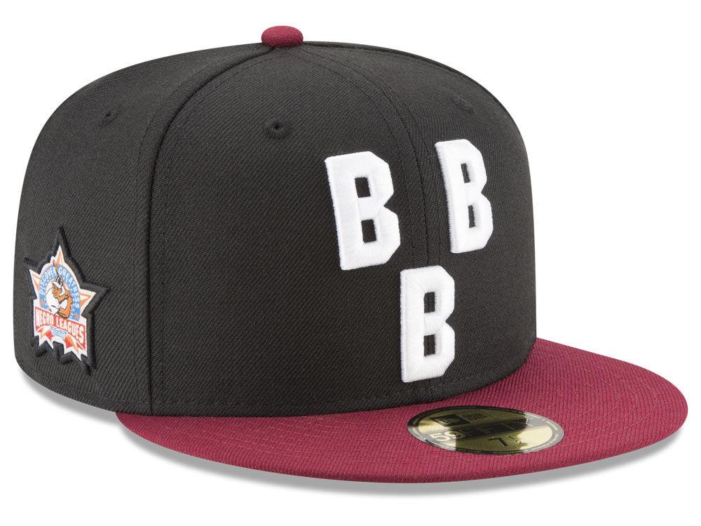 Birmingham Black Barons New Era Negro League Patch Collection 59FIFTY Cap  eadc6ee79fe