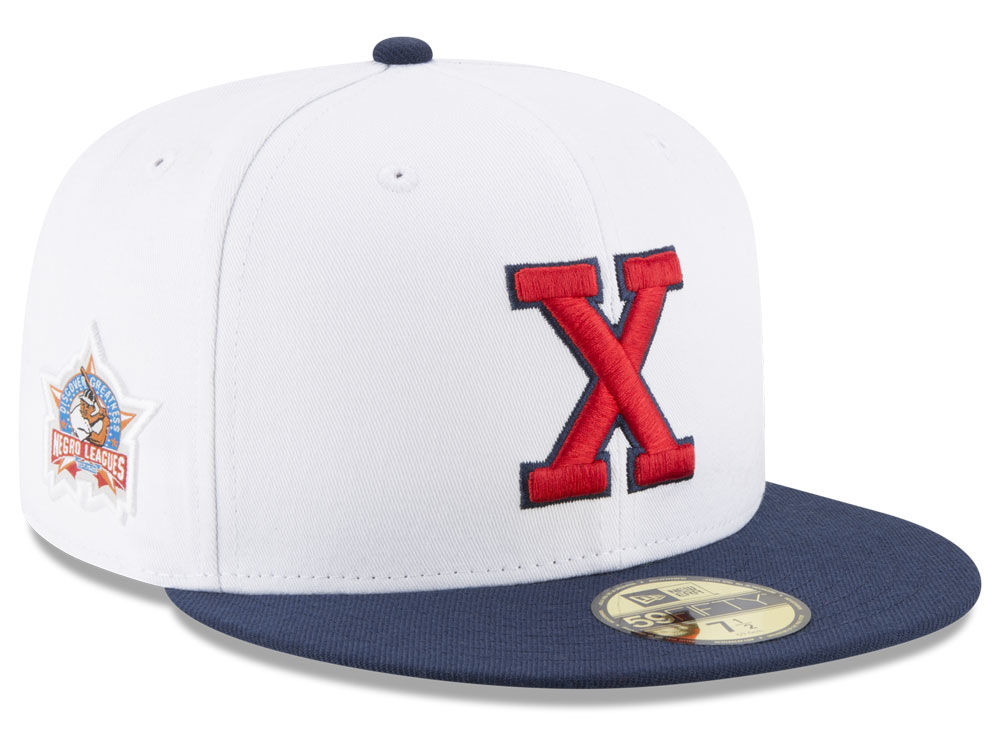 Cuban X Giants New Era Negro League Patch Collection 59FIFTY Cap 1ba84f3f06a