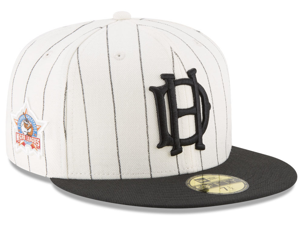 House of David New Era Negro League Patch Collection 59FIFTY Cap ... 6601dfeee84a