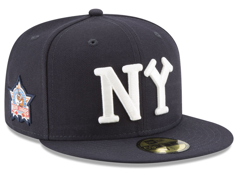 New York Black Yankees New Era Negro League Patch Collection 59FIFTY Cap  a0d4a8ea5b8