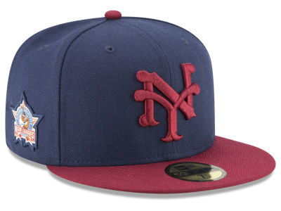 New York Cubans New Era Negro League Patch Collection 59FIFTY Cap