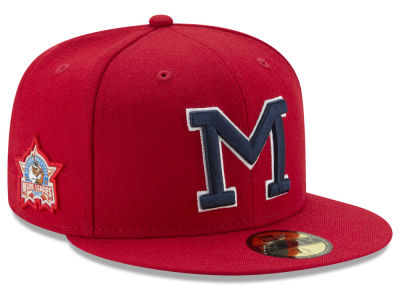 Memphis Red Sox New Era Negro League Patch Collection 59FIFTY Cap