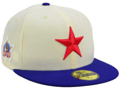 Detroit Stars New Era Negro League Patch Collection 59FIFTY Cap