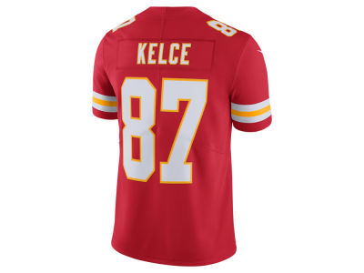 Kansas City Chiefs Travis Kelce Nike NFL Men's Vapor Untouchable Limited Jersey