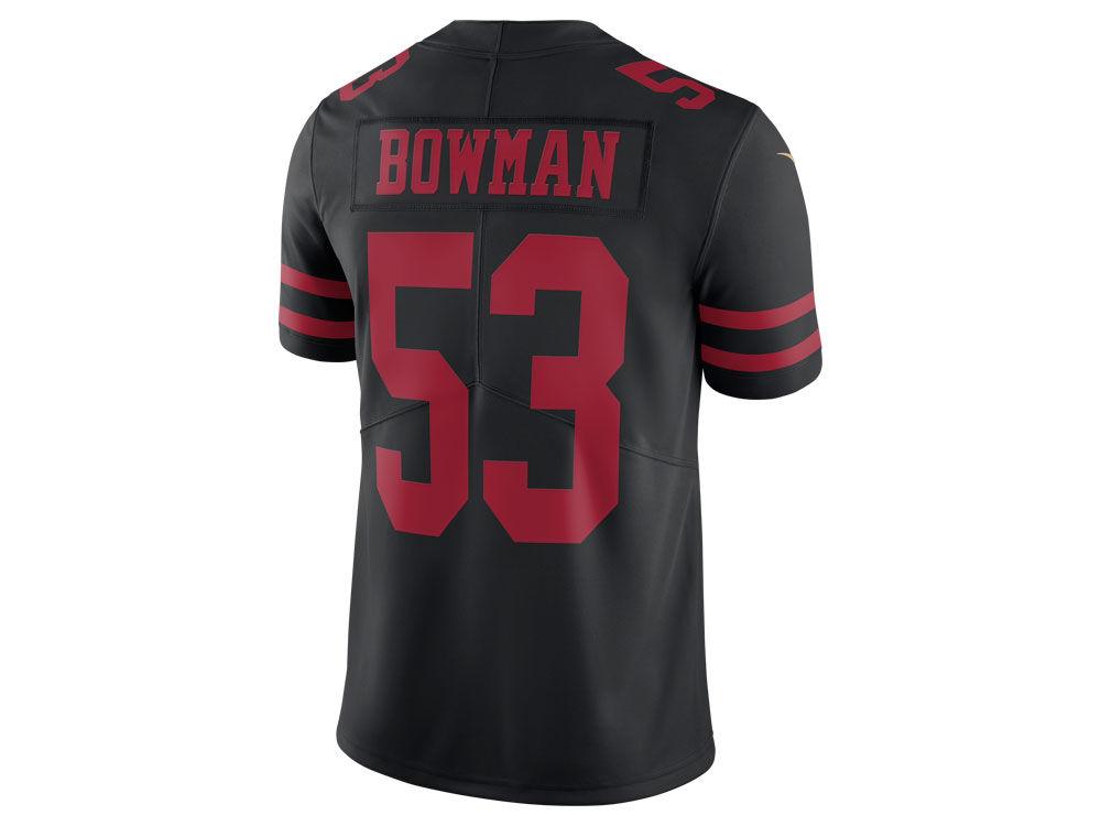 9da9e476e San Francisco 49ers NaVorro Bowman Nike NFL Mens Vapor Untouchable Limited Jersey  NaVorro Bowman 53 ...