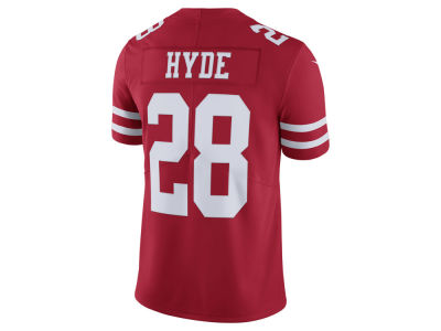 San Francisco 49ers Carlos Hyde Nike NFL Men's Vapor Untouchable Limited Jersey