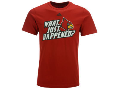 Louisville Cardinals adidas NCAA Men's What Just Happened T-Shirt