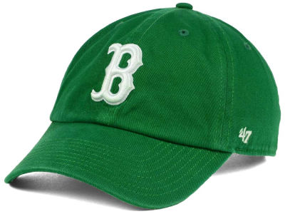 Boston Red Sox '47 MLB Kelly White '47 CLEAN UP Cap