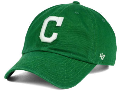 Cleveland Indians '47 MLB Kelly White '47 CLEAN UP Cap