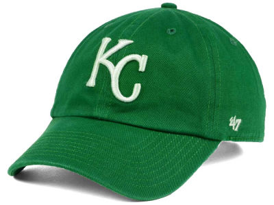 Kansas City Royals '47 MLB Kelly White '47 CLEAN UP Cap