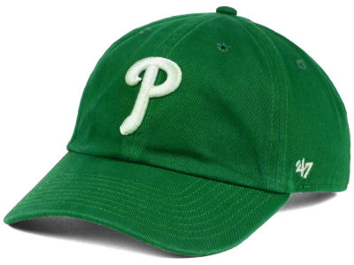 Philadelphia Phillies '47 MLB Kelly White '47 CLEAN UP Cap