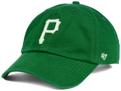 Pittsburgh Pirates '47 MLB Kelly White '47 CLEAN UP Cap