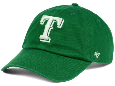 Texas Rangers '47 MLB Kelly White '47 CLEAN UP Cap