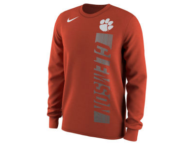 Clemson Tigers Nike NCAA Men's Football Momentum Long Sleeve T-Shirt