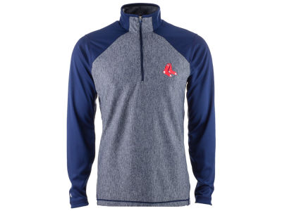 Boston Red Sox MLB Men's Playmaker Quarter Zip Pullover