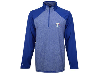 Texas Rangers MLB Men's Playmaker Quarter Zip Pullover