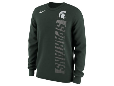 Michigan State Spartans Nike NCAA Men's Football Momentum Long Sleeve T-Shirt