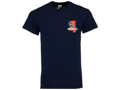 Ole Miss Rebels NCAA Men's Our State Short Sleeve T-Shirt