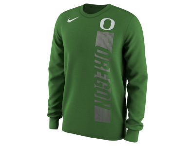 Oregon Ducks Nike NCAA Men's Football Momentum Long Sleeve T-Shirt