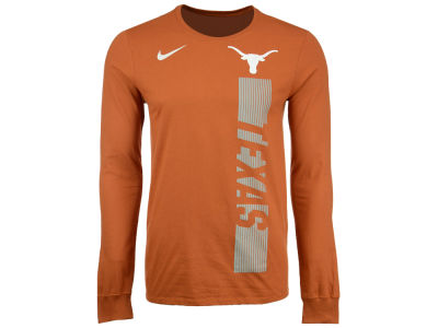 Texas Longhorns Nike NCAA Men's Football Momentum Long Sleeve T-Shirt