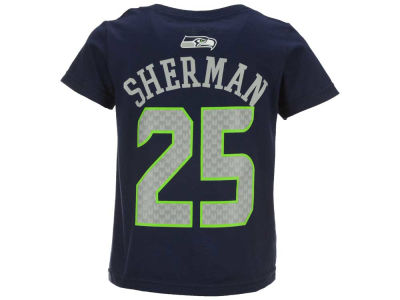 Seattle Seahawks Richard Sherman NFL Toddler Mainliner Player T-Shirt