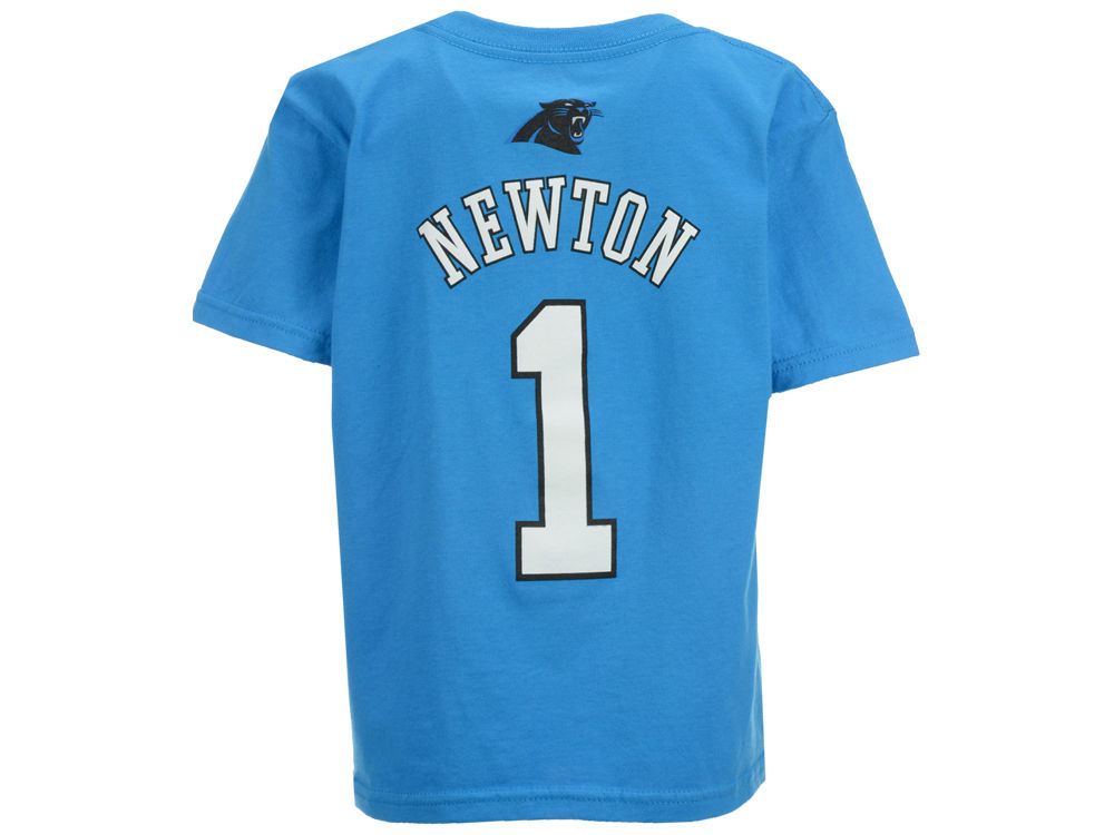 Carolina Panthers Cam Newton Outerstuff NFL Kids Mainliner Player T-Shirt  22739724a