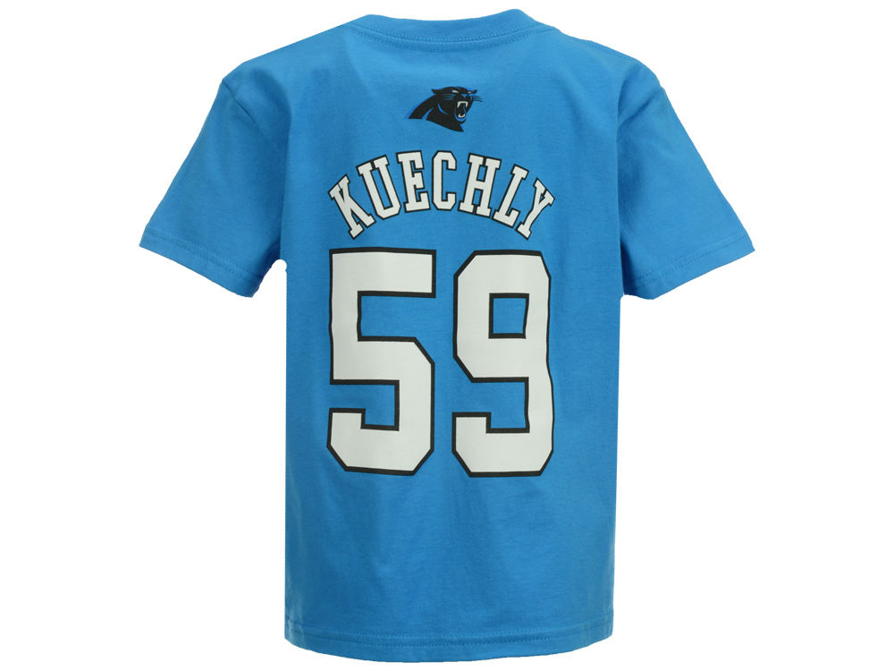 Carolina Panthers Luke Kuechly Outerstuff NFL Kids Mainliner Player T-Shirt   aec2f286b