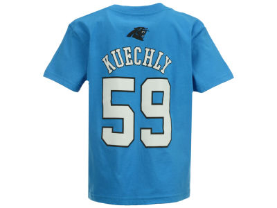 Carolina Panthers Luke Kuechly Outerstuff NFL Kids Mainliner Player T-Shirt
