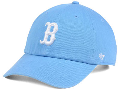 Boston Red Sox '47 MLB Powder Blue/White '47 CLEAN UP Cap