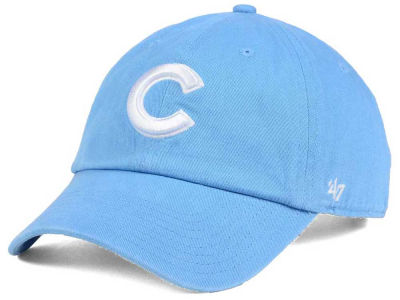 Chicago Cubs '47 MLB Women's Powder Blue/White '47 CLEAN UP Cap