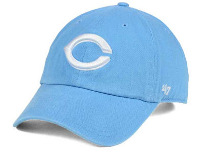 Cincinnati Reds '47 MLB Women's Powder Blue/White '47 CLEAN UP Cap