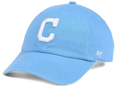 Cleveland Indians '47 MLB Women's Powder Blue/White '47 CLEAN UP Cap
