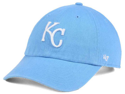 Kansas City Royals '47 MLB Women's Powder Blue/White '47 CLEAN UP Cap